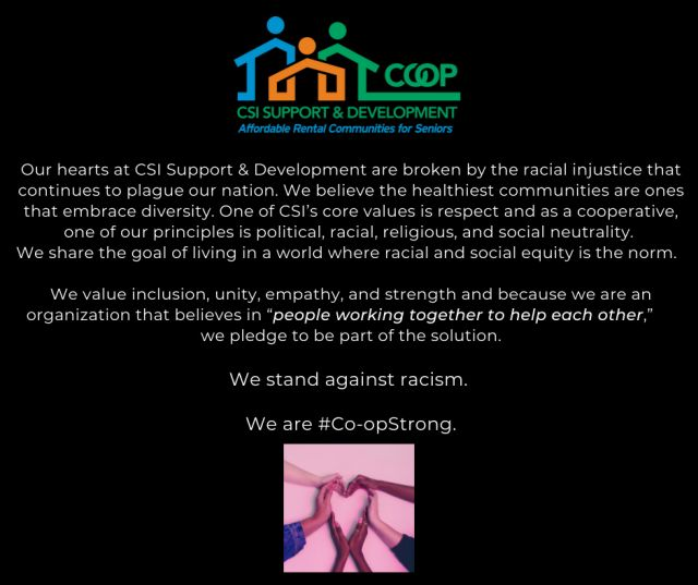 CSI statement on racism
